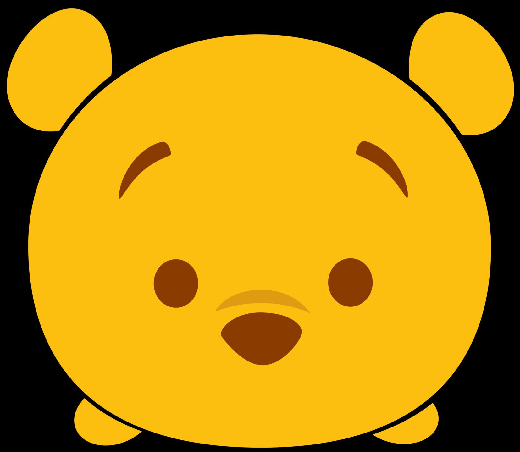 Disney tsum tsum clipart svg freeuse download Disney Tsum Tsum Clipart Winnie The Pooh svg freeuse download