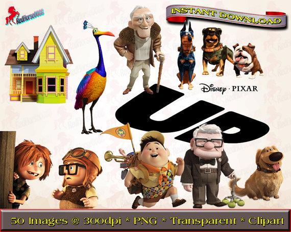 Disney up character clipart.  pixar characters png