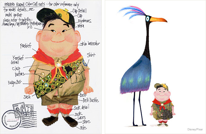 Disney up character clipart image library library Up' Concept Art and Character Development | Concept Art World image library library