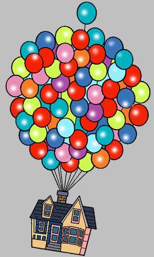 Up movie house clipart transparent vector stock Walt Disney World Balloons Clipart | Clip art | Disney up, Disney ... vector stock