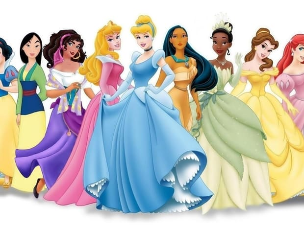 The official princess list. Disney upset character clipart