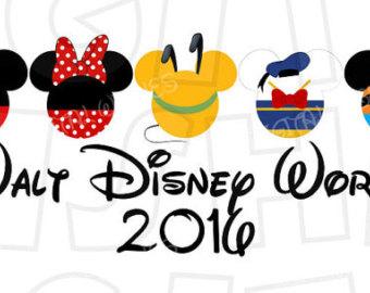 Clipartfest ears walt . Disney world 2016 clipart