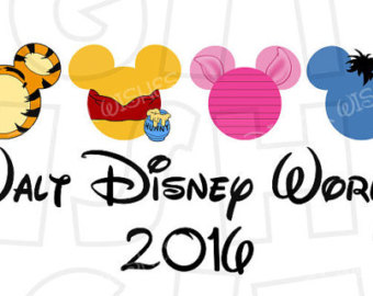 Disney world 2016 clipart. Fir trip characters free