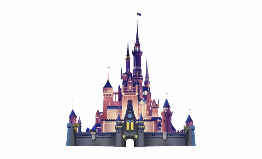 Walt disney castle clipart png library Free Disneyland Castle Clipart - Disney Castle Logo Png Free PNG ... png library