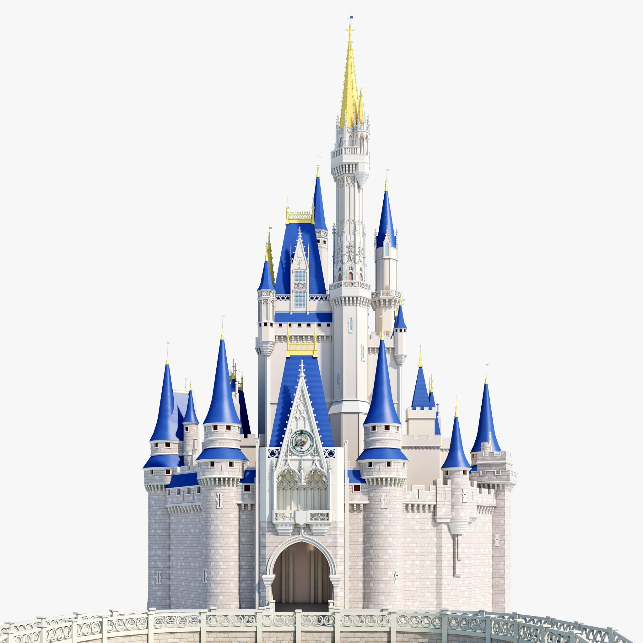 Walt disney castle clipart transparent Disney castle cinderella castle clipart - ClipartPost transparent