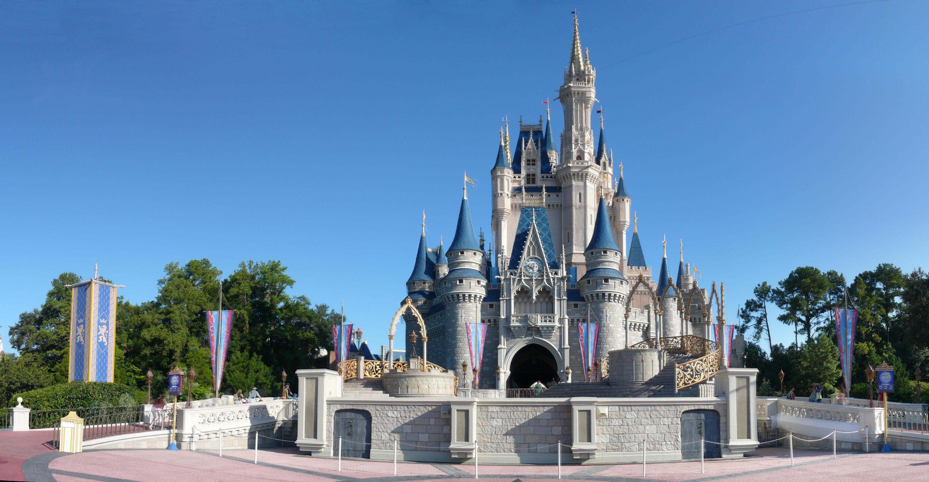 Disney world magic kingdom clipart vector download Disney World Castle Clipart - Clipart Kid vector download