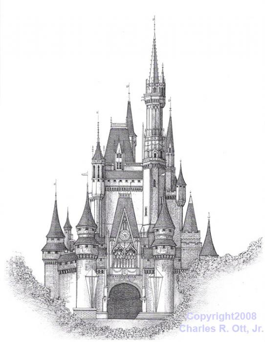 Disney world magic kingdom clipart svg transparent download Magic kingdom castle outline clipart - ClipartFest svg transparent download