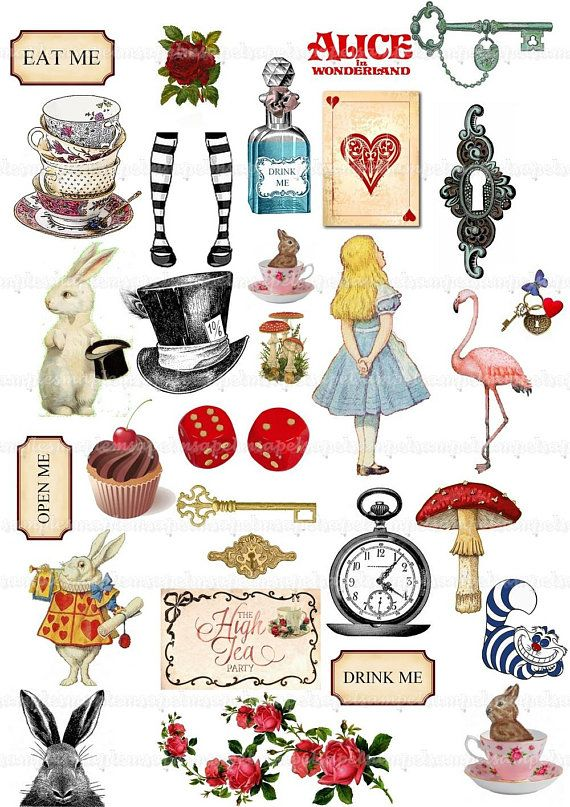 Disneys alice in wonderland drink me clipart jpg transparent Alice in Wonderland Clipart Alice Clip Art Watercolor Mad Hatter Tea ... jpg transparent