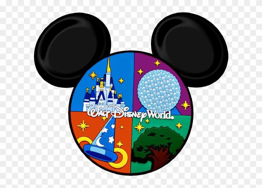 Disneyworld clipart vector download Clipart Disney World - Disney World Mickey Head - Png Download ... vector download