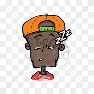 Disoriented clipart image free library Boy With Cap Feeling Sleepy Vector Image - Clipart Disoriented - Png ... image free library