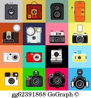 Disposable camera clipart image library library Disposable Camera Clip Art - Royalty Free - GoGraph image library library