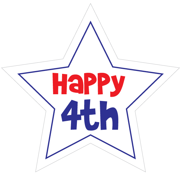 Distorted star clipart vector black and white stock 4th Of July Star Clipart | Clipart Panda - Free Clipart Images vector black and white stock