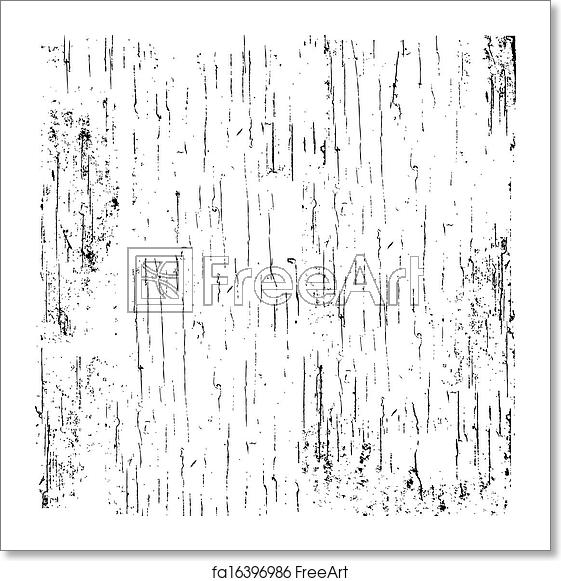 Distress texture clipart banner black and white download Free art print of Vector Scratched Distress Overlay banner black and white download