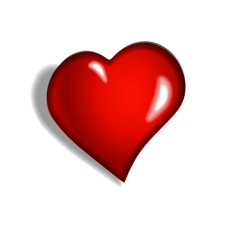 Fat heart clipart clip art royalty free download File:Redheart.png - Wikimedia Commons | Hearts ♥ L♥ve | Pinterest ... clip art royalty free download