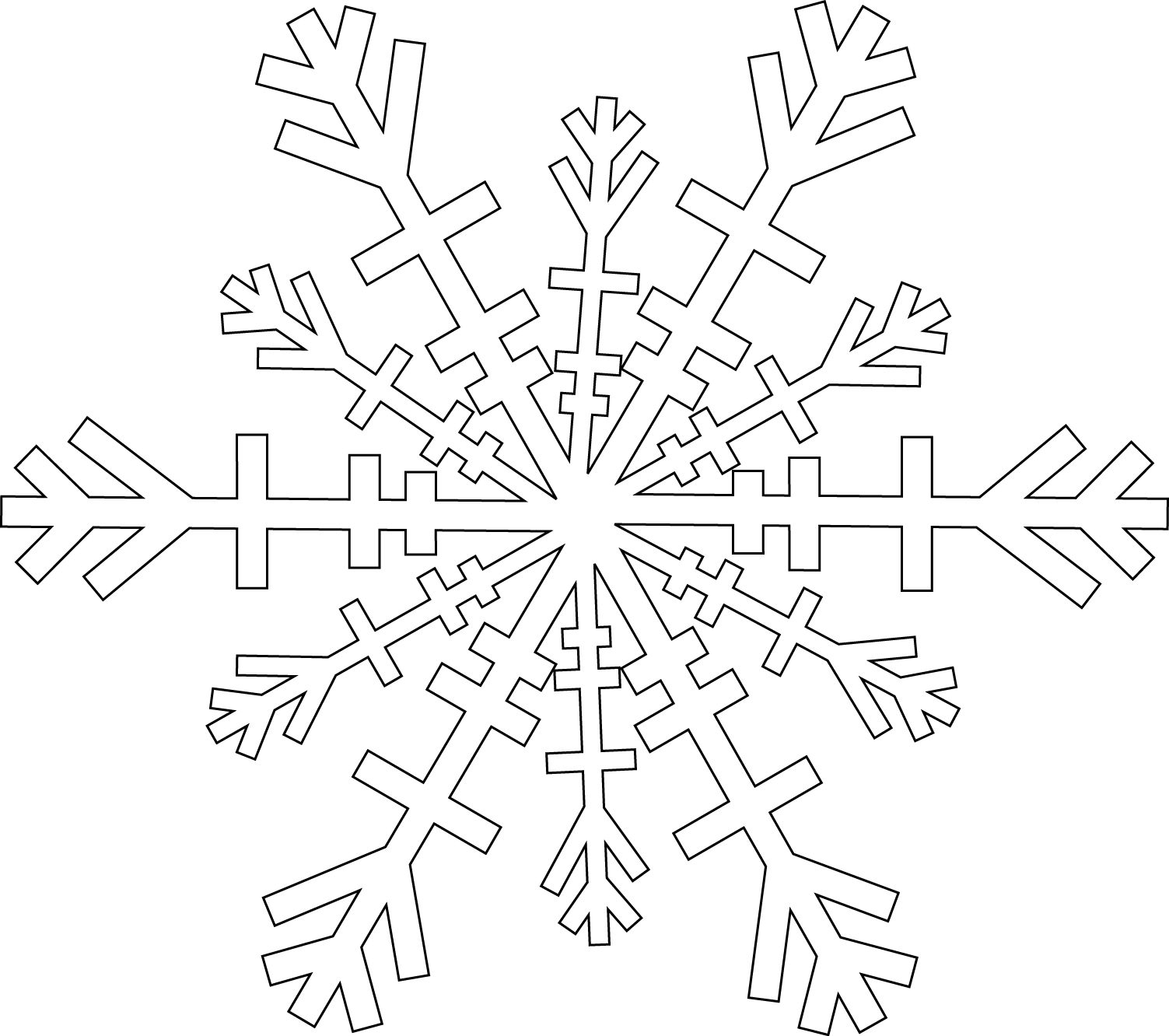 Distressed snowflake clipart black and white png library snow_flake2.png (1503×1332) | Digi Stamp | Pinterest png library