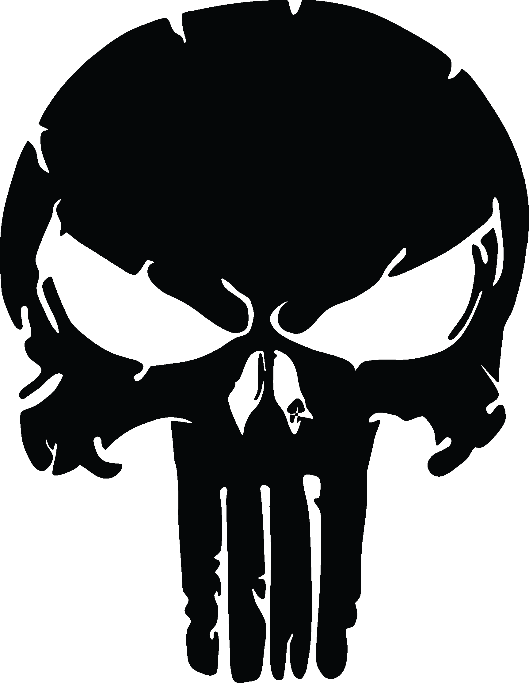 Distressed star clipart png freeuse stock X2 - (TWO) The Punisher Skull, Distressed Vinyl Graphic Decal ... png freeuse stock