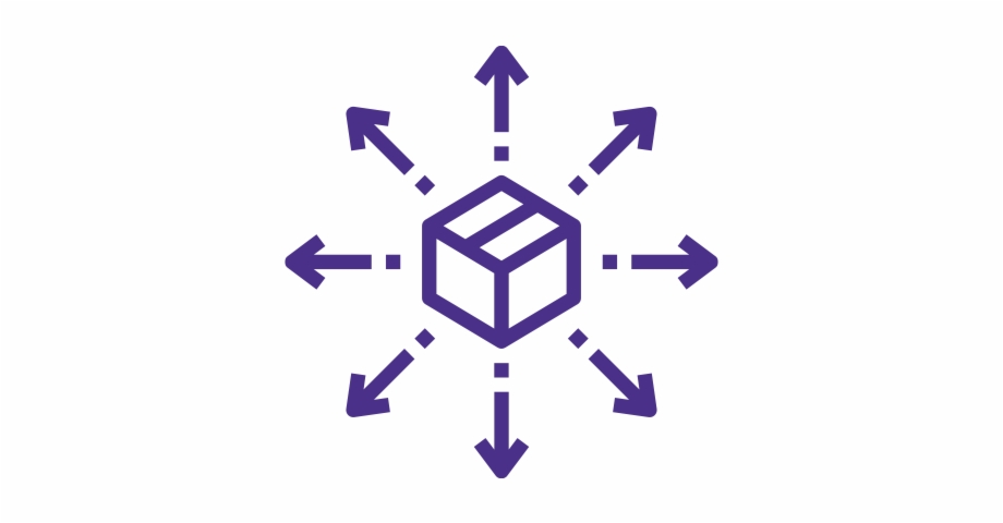Distribution icon clipart picture royalty free library Warehouse Distribution Icon - Logistics Free PNG Images & Clipart ... picture royalty free library