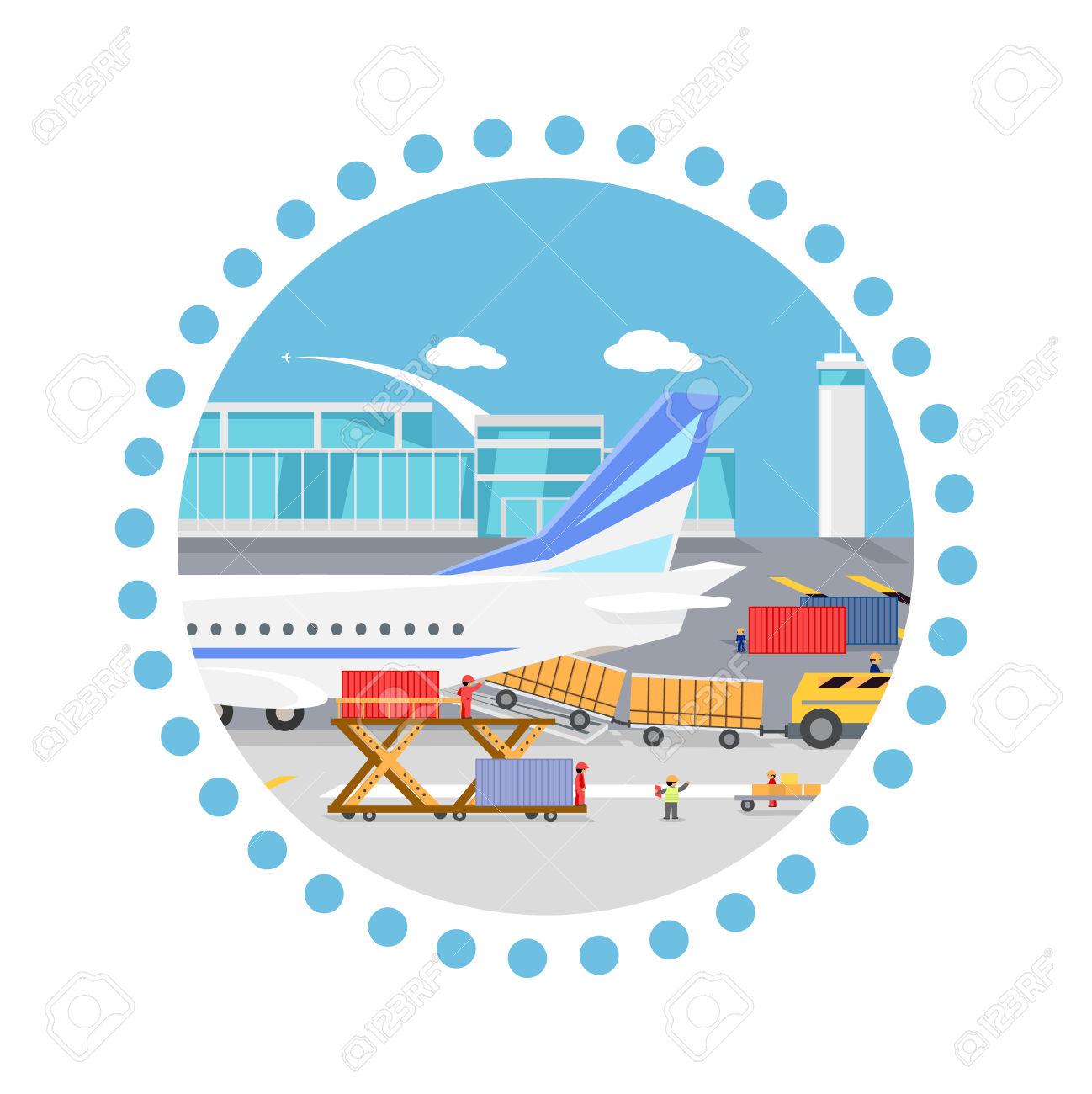 Distribution plane clipart. Clipartfest load loading