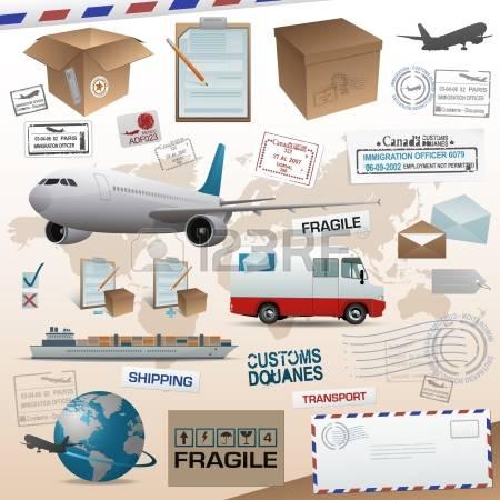 Clipartfox cargo loading . Distribution plane clipart