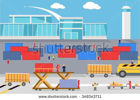 Distribution plane clipart. Clipartninja containers cargo