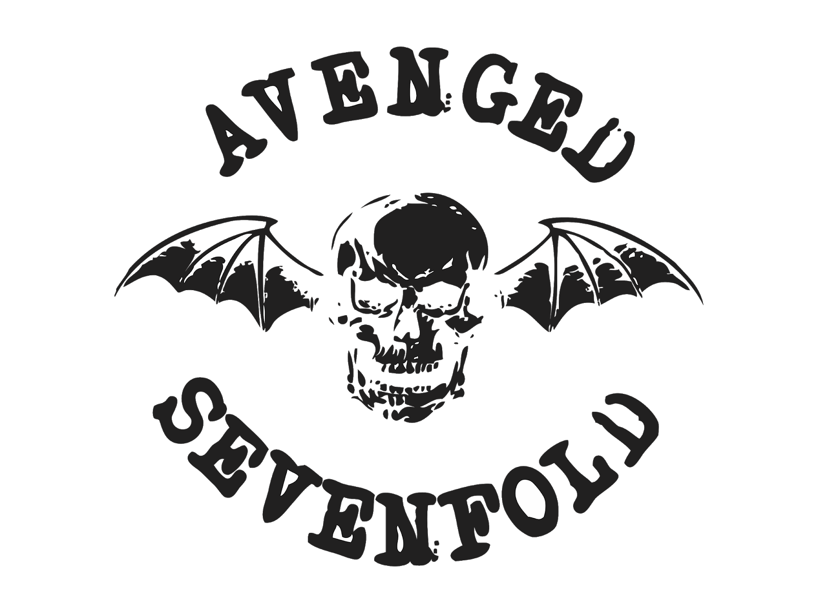 Disturbed logo clipart graphic freeuse stock Avenged Sevenfold Logo Disturbed Black and white Stencil - avengers ... graphic freeuse stock