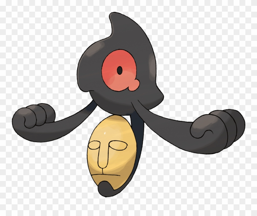 Disturbing clipart banner library download And So, The Most Disturbing Pokémon That Keeps Me Up - Yamask ... banner library download
