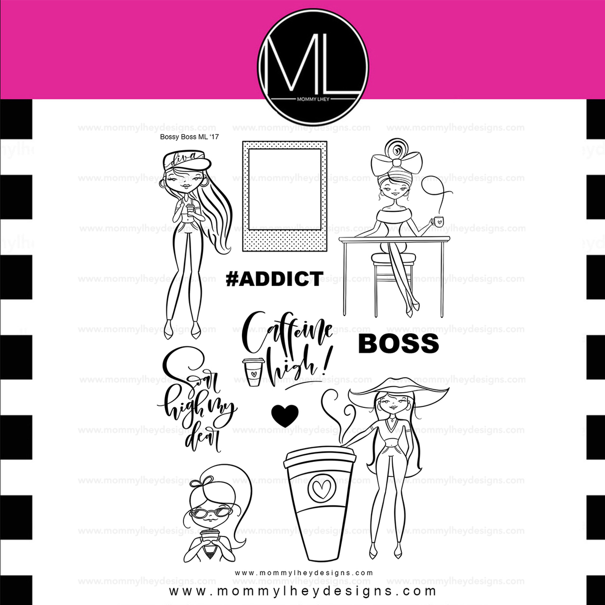 Diva boss clipart black and white png freeuse download Bossy Boss png freeuse download