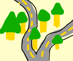 Diverging road clipart graphic transparent Free Pathway Clipart diverging road, Download Free Clip Art on Owips.com graphic transparent