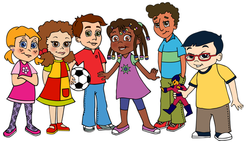 Diverse group of people clipart svg freeuse stock Diverse group of kids clipart images gallery for free download ... svg freeuse stock