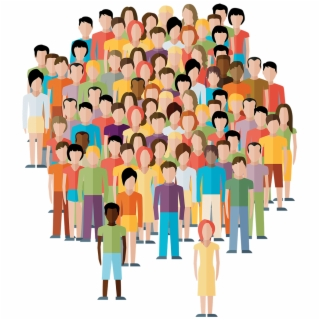 Diverse group of people clipart graphic library Youth Diverse Group Person Transparent Clipart Free - Diverse Kids ... graphic library
