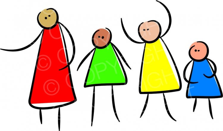 Diverse group of people clipart svg library library Diverse Group of Stick Figures Prawny People Clip Art – Prawny ... svg library library