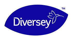 Diversey logo clipart graphic black and white stock Diversey | Let\'s live. graphic black and white stock