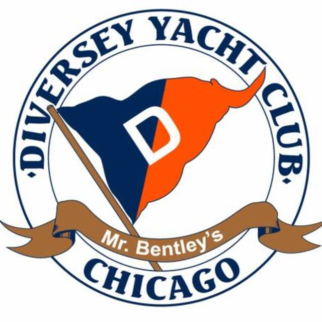 Diversey logo clipart clip black and white stock Diversey Yacht Club, Chicago, IL - Localwise clip black and white stock