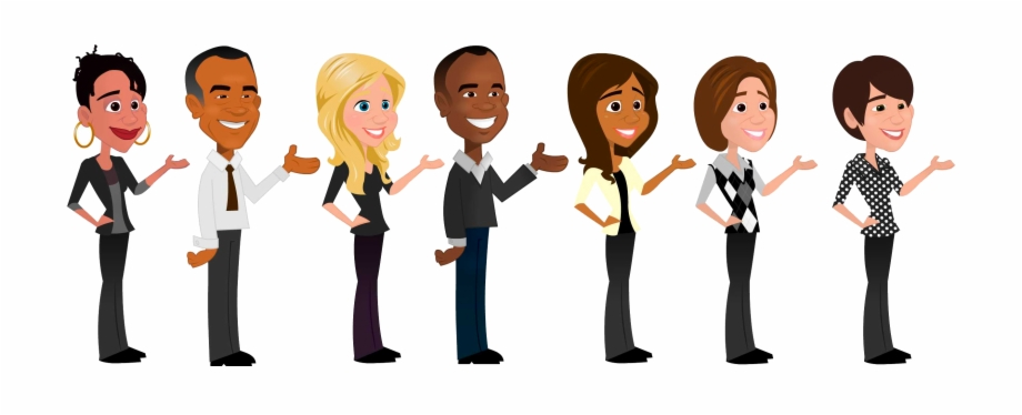 Diversity in the workplace clipart picture black and white stock People Clipart Diversity - Diversity In The Workplace Png Free PNG ... picture black and white stock