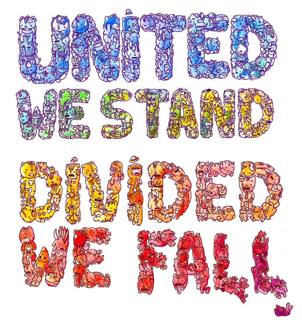 Divided we fall clipart banner transparent APFN - United We Stand & Divided We Fall. We The People. US=People: banner transparent