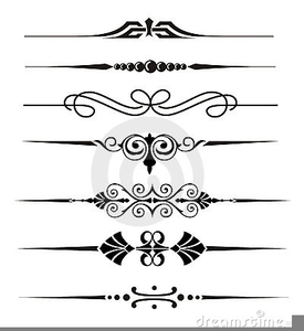 Divider lines clipart free library Wedding Line Divider Clipart   Free Images at Clker.com - vector ... free library