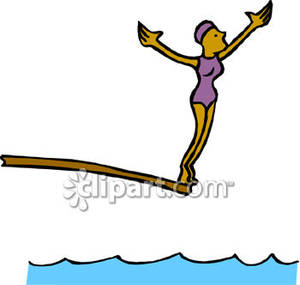 Diving board clipart svg free download A Diver Preparing To Jump Off a Diving Board Royalty Free Clipart ... svg free download