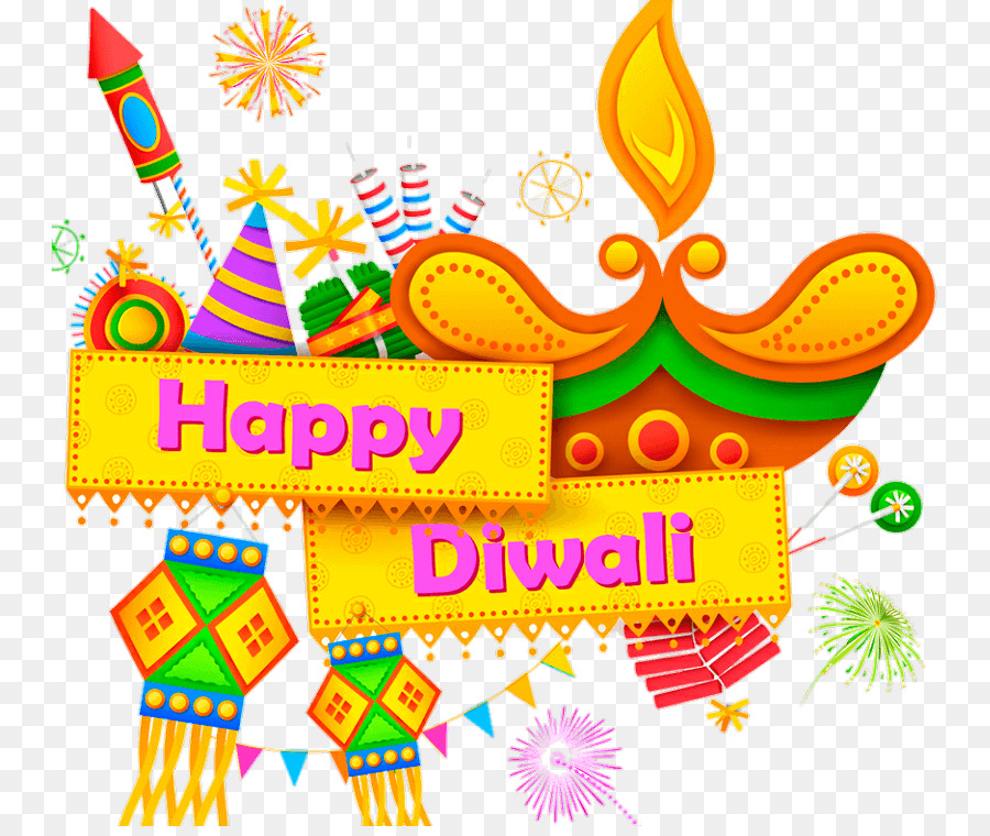 Happy diwali clipart text