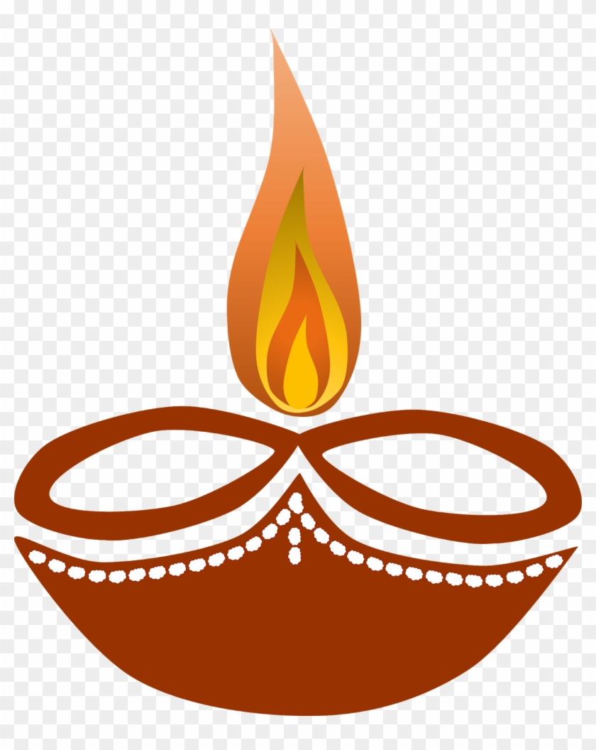 Diwali clipart hd clipart black and white stock Diwali Diya Free Clipart - Diya Clip Art, HD Png Download ... clipart black and white stock