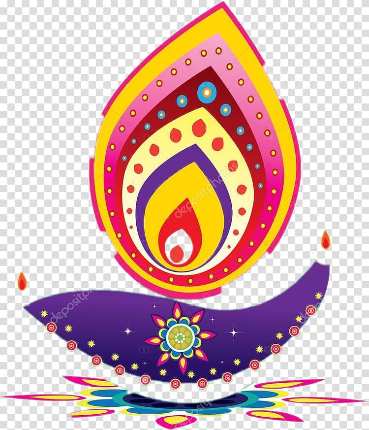 Diwali lamp clipart graphic royalty free library Multicolored , Diwali Diya , Diwali transparent background PNG ... graphic royalty free library