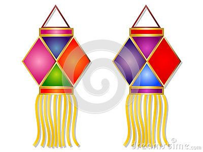 Diwali lamp clipart images image Cartoon Diwali Lantern Vector Illustration Clipart. | Illustrations ... image