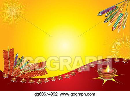 Diwali light clipart jpg royalty free library Vector Art - Diwali light. Clipart Drawing gg60674992 - GoGraph jpg royalty free library