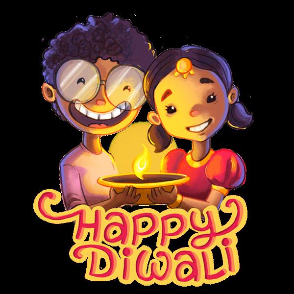 Diwali sticker clipart jpg transparent library Happy {Deepavali}* Diwali Stickers for Whatsapp & Facebook to share ... jpg transparent library