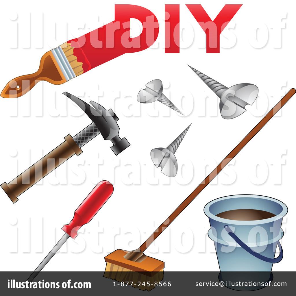 Diy clipart clip royalty free stock Diy Clipart #1070927 - Illustration by cidepix clip royalty free stock