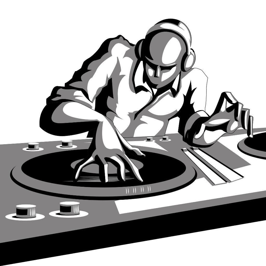 Dj background clipart image free library Disc jockey DJ mixer Cartoon Clip art - Rap PNG File png download ... image free library