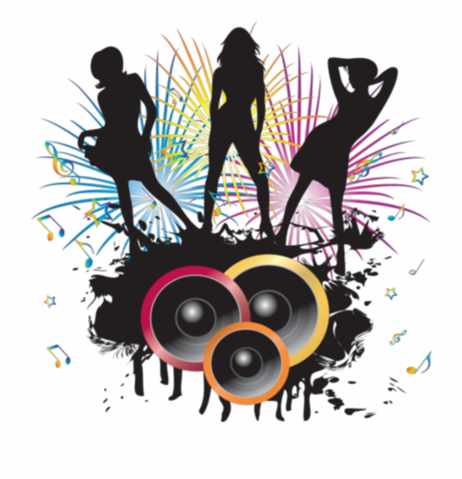 Dj dance clipart png free library dj - Dance And Music Png Free PNG Images & Clipart Download #1264458 ... png free library