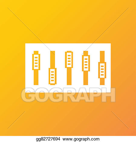 Dj text clipart graphic transparent Clipart - Dj console mix handles and buttons icon symbol. trendy ... graphic transparent