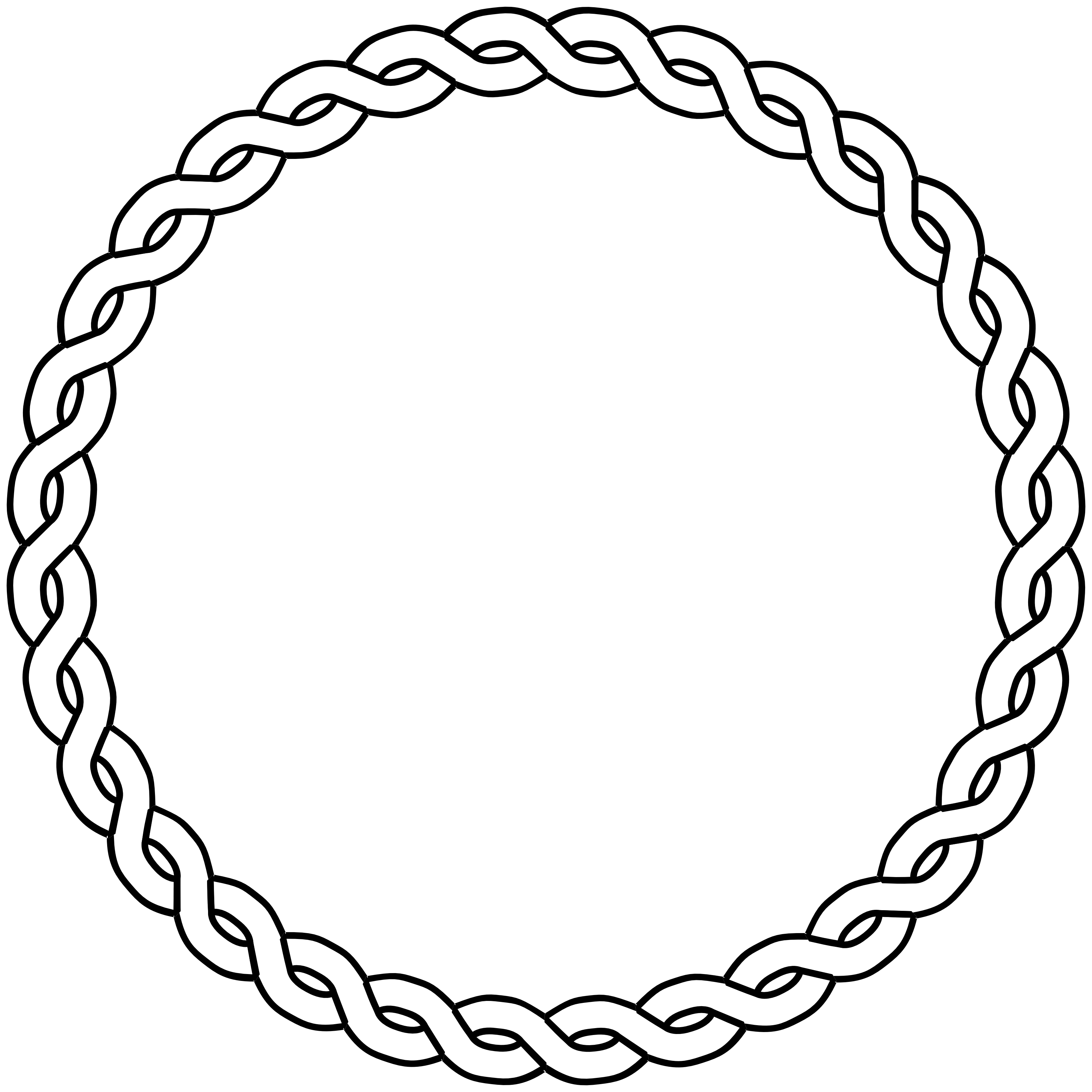 Dna tree clipart vector freeuse stock Rope Border Circle Dna Black | Clipart Panda - Free Clipart Images vector freeuse stock