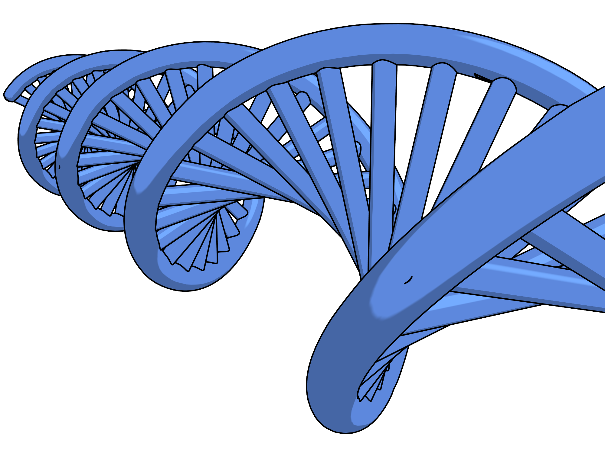 Dna tree clipart image black and white download Dna Png Clipart Picture | Clipartly.com image black and white download
