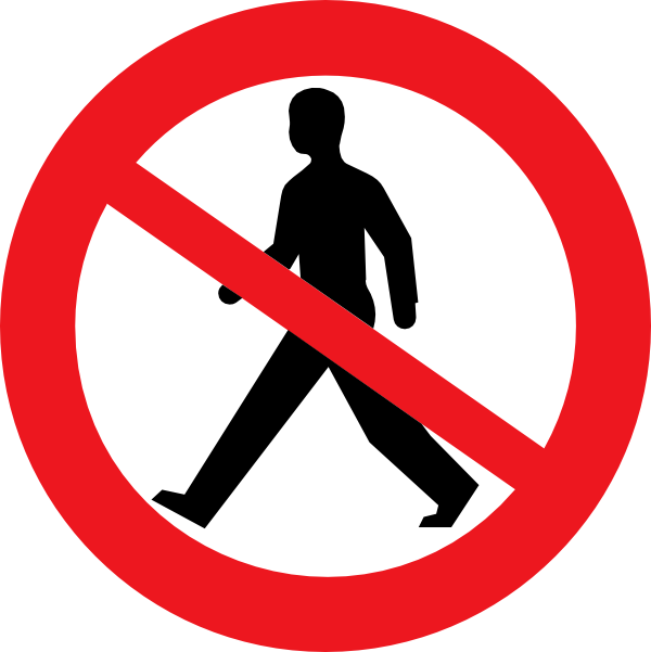 Restricted clipart graphic free stock Do Not Enter Man Clip Art at Clker.com - vector clip art online ... graphic free stock
